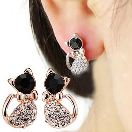 New 1 Pair Women Earring Elegant Ca..