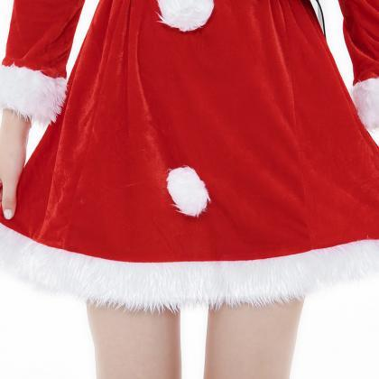 New Cute Red Long Sleeve Christmas ..