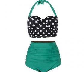 Lady Swimwear Retro ..