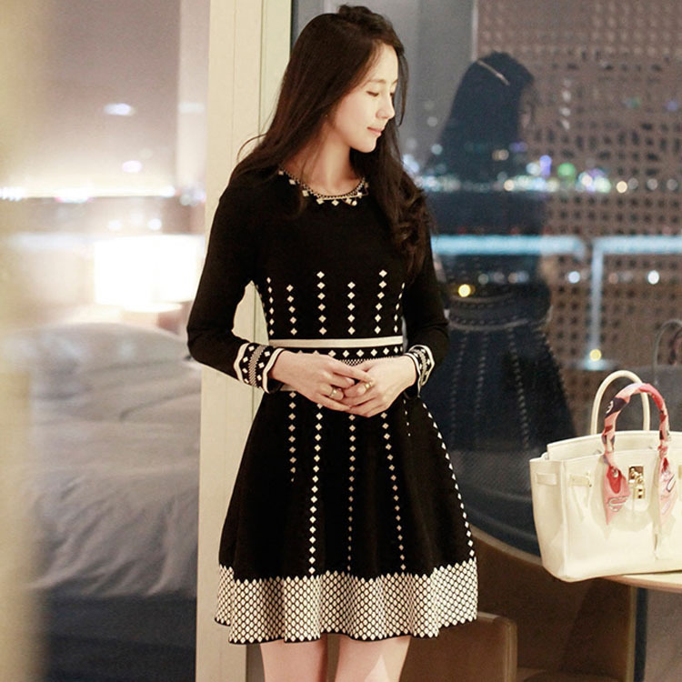 Autumn&Winter Women Long Sleeve Dress