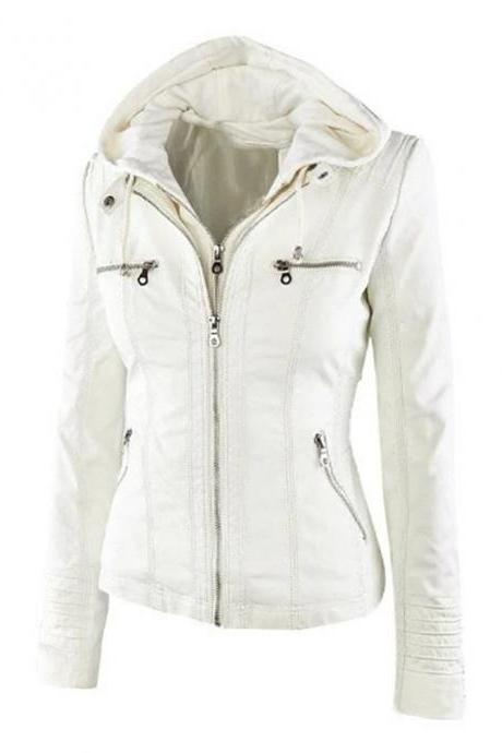 High Quality omen's Jacket Regular Solid Colored Daily - Beige