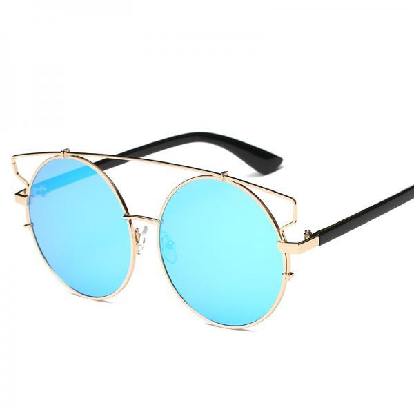 Free Shipping Fashion And High Quality Designer Sunglasses For Women - Blue