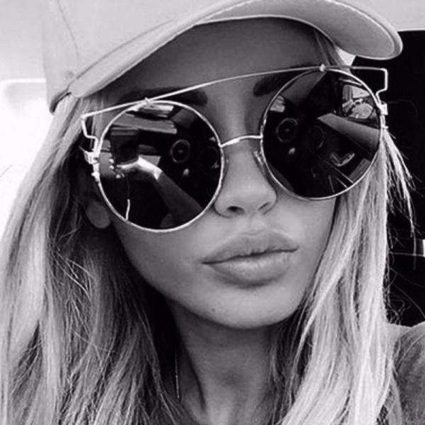 Free Shipping Fashion And High Quality Designer Sunglasses For Women - Sliver