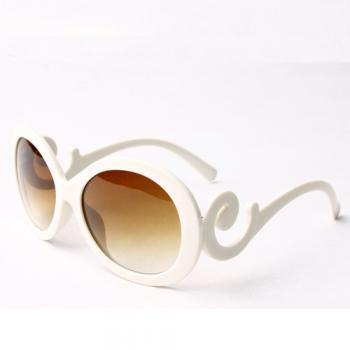Free shipping European Style Weave Embellished PC Sunglasses 3 Colors